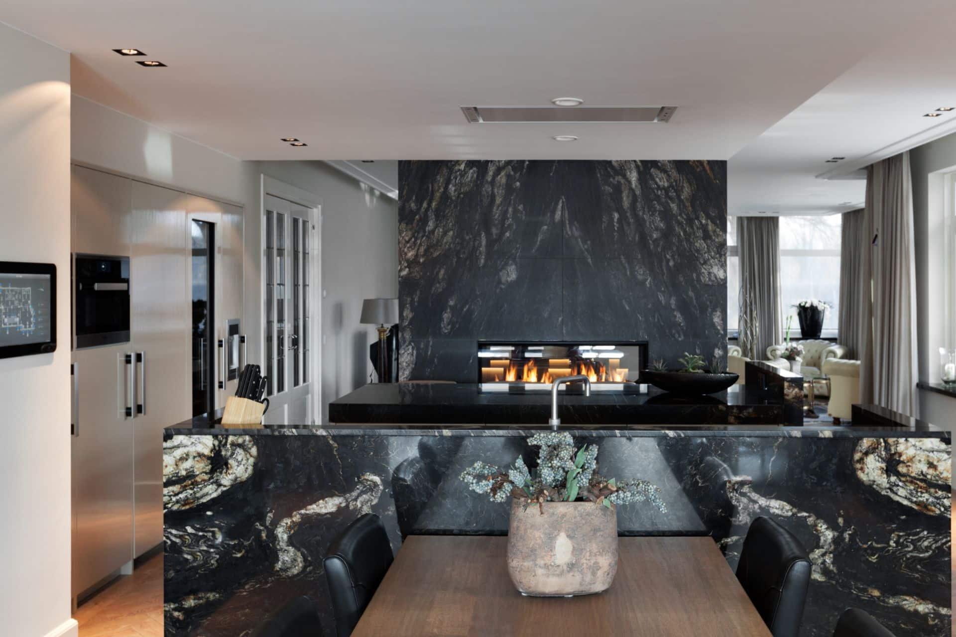 Luxe marmeren keuken