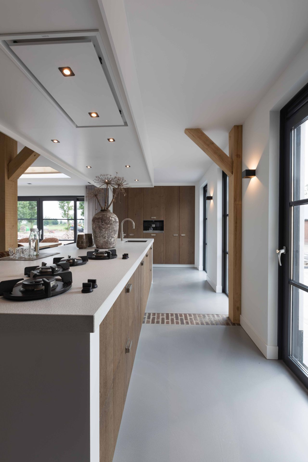 Moderne landelijke keuken 04