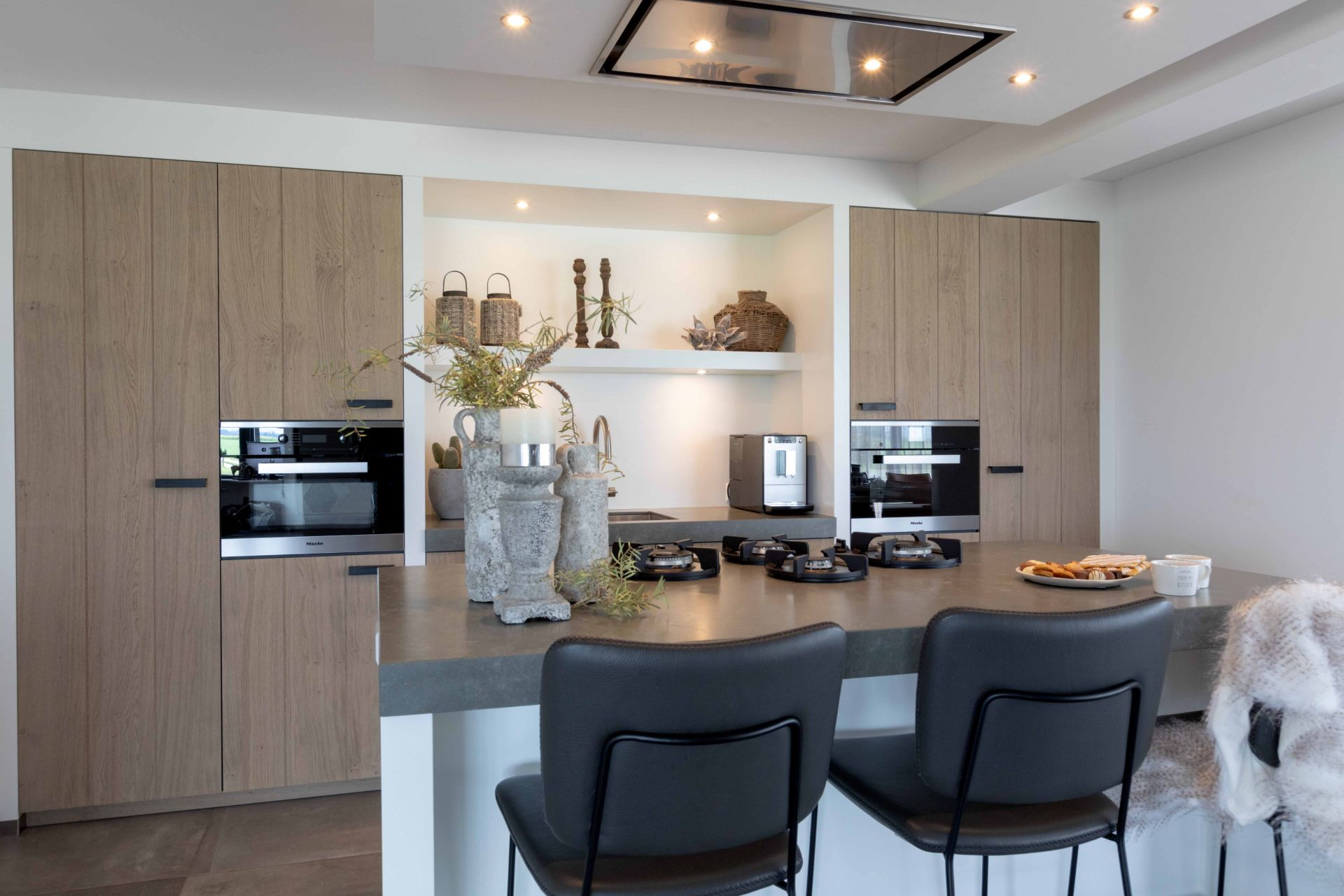 Moderne landelijke keuken 32