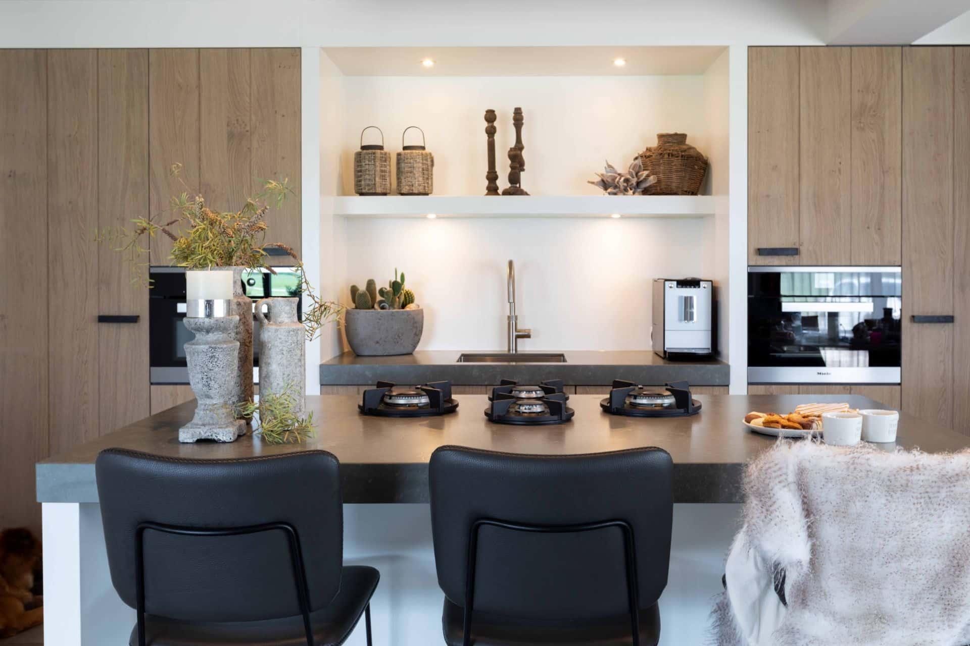 Moderne landelijke keuken 38