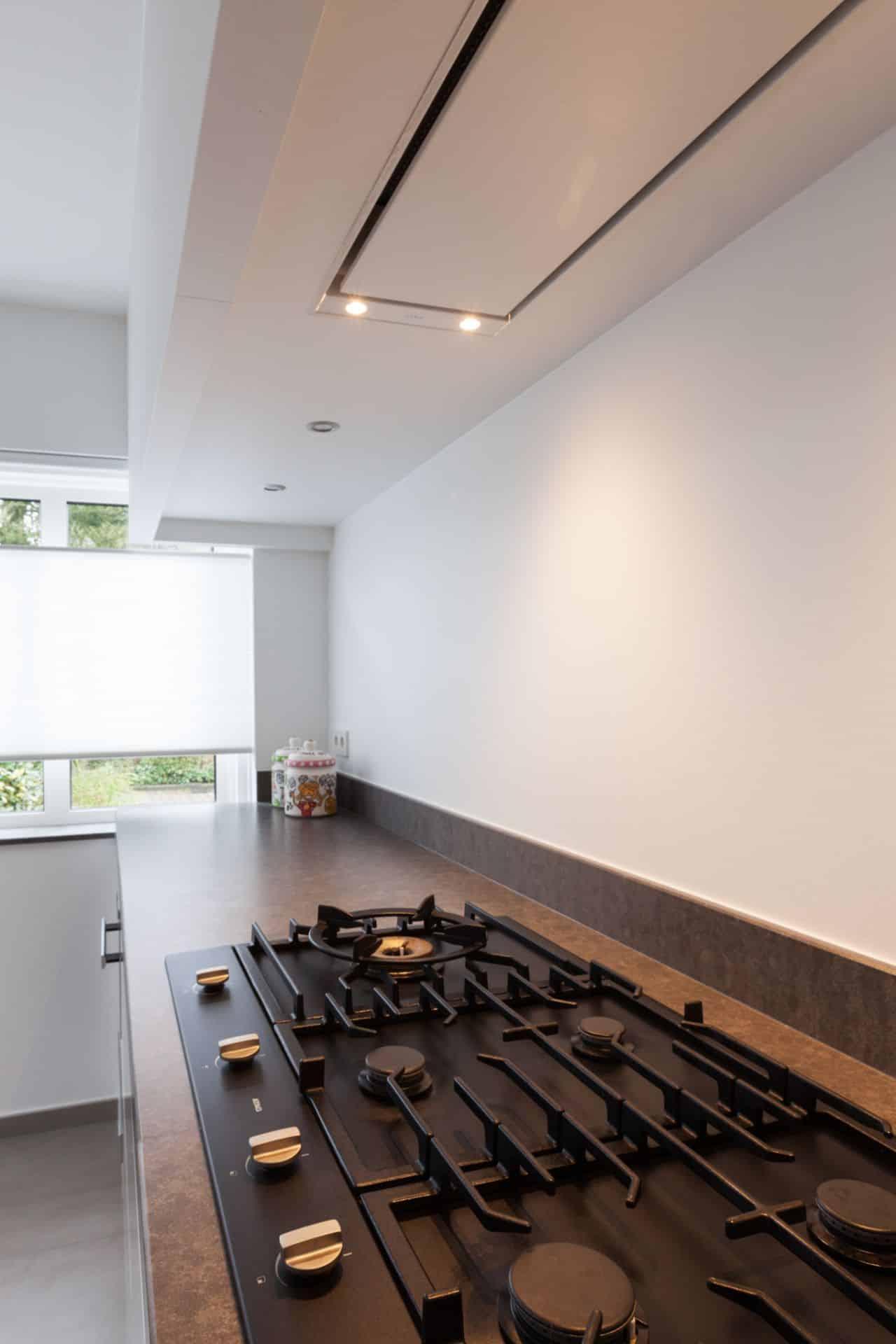 Moderne witte keuken 022