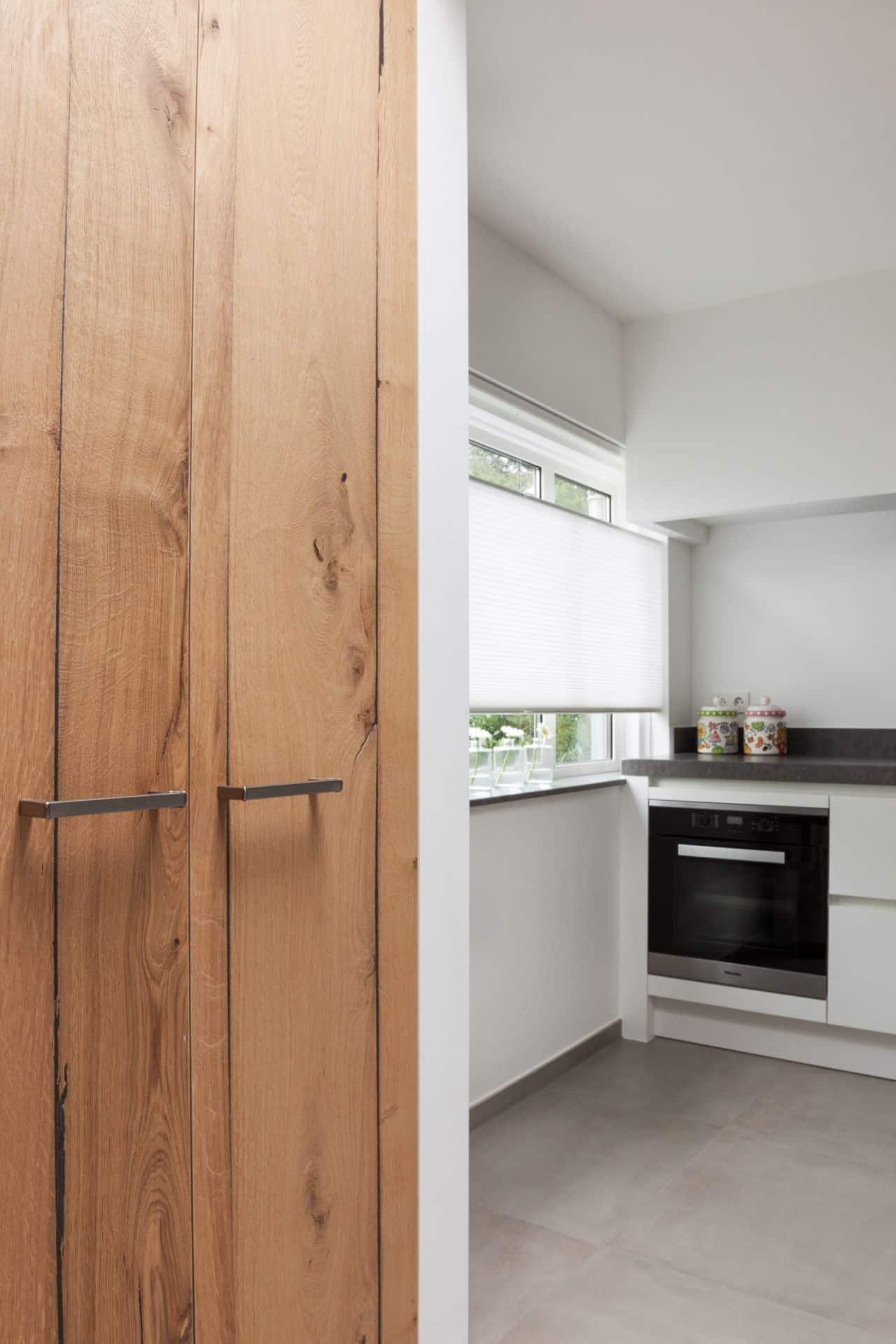 Moderne witte keuken 21