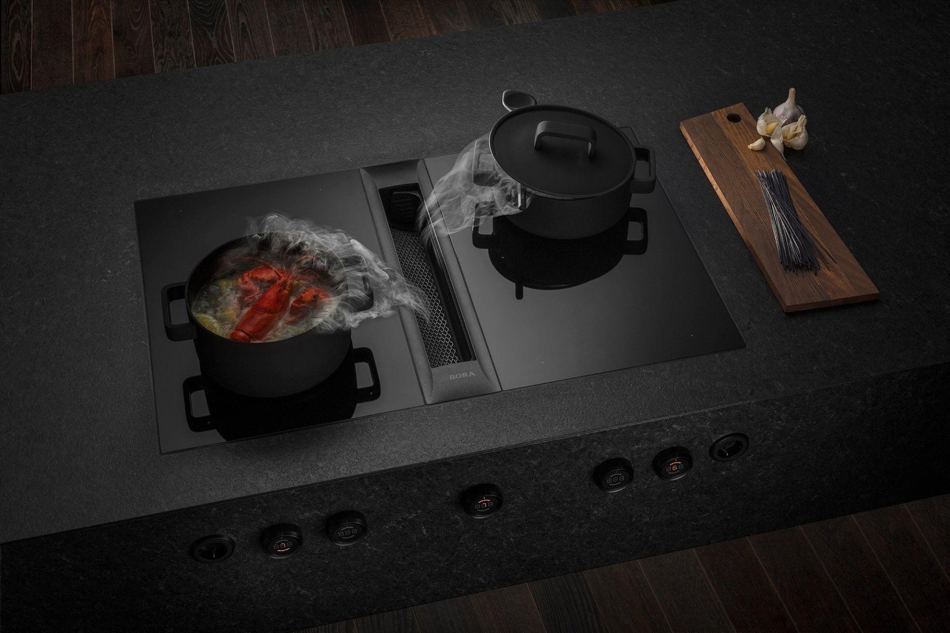 Zwarte bora professional kookplaat 02