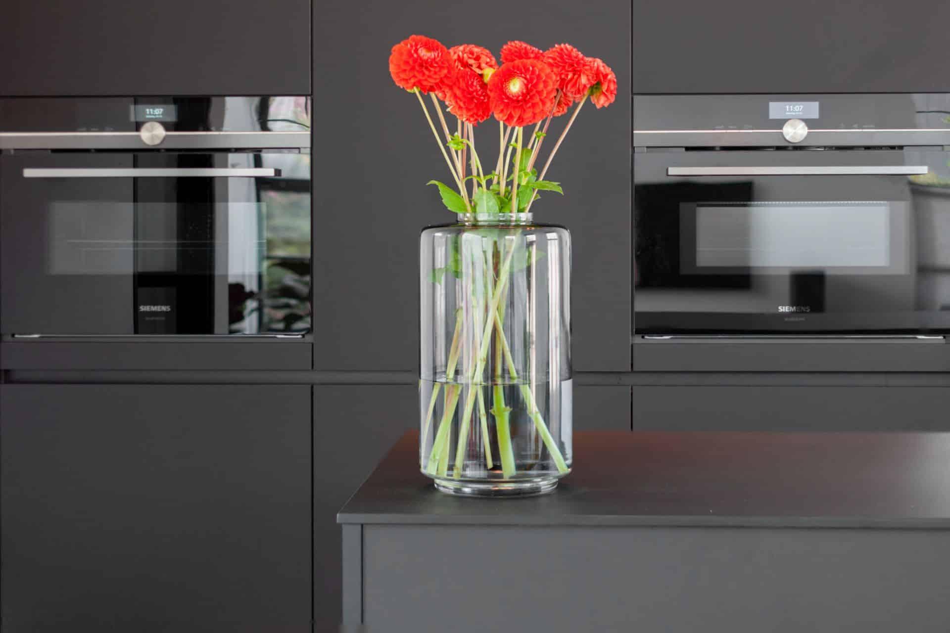 Zwarte fenix design keuken 4