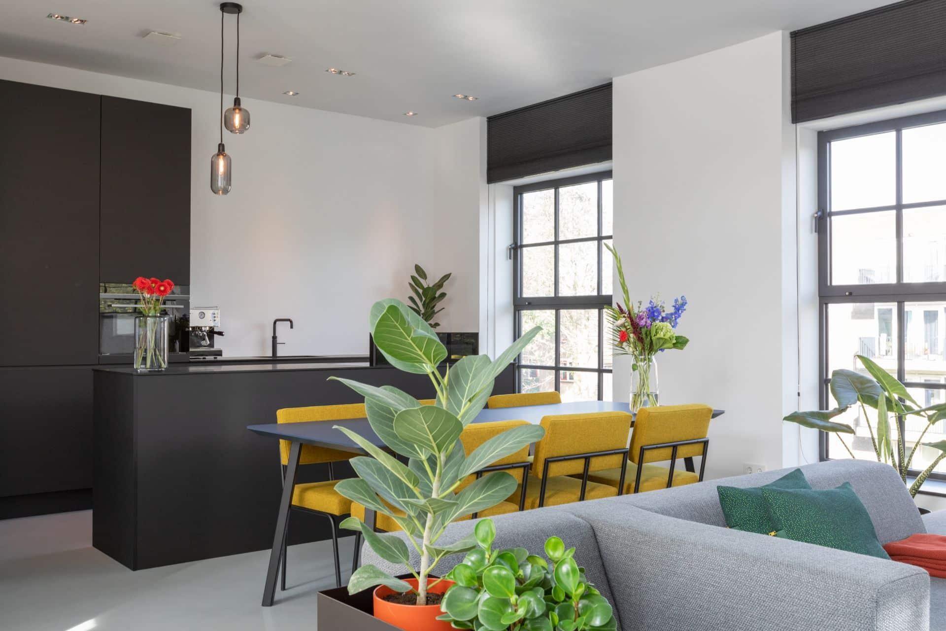 Zwarte fenix design keuken 45