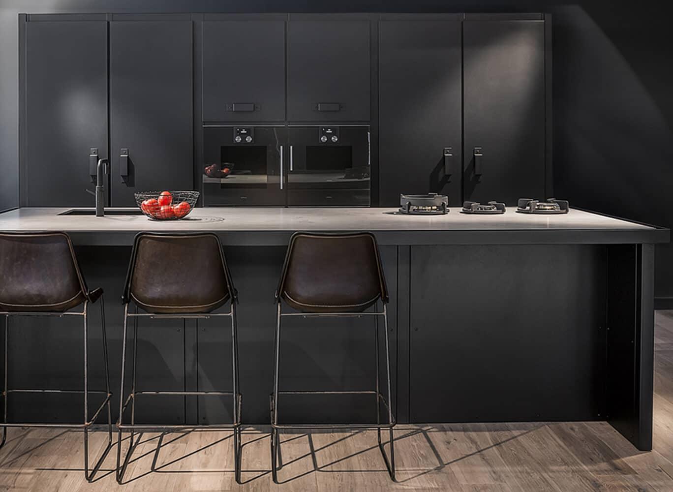 Pitt cooking zwarte keuken