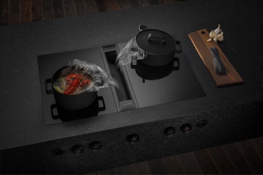 Bora kookplaat zwart 16
