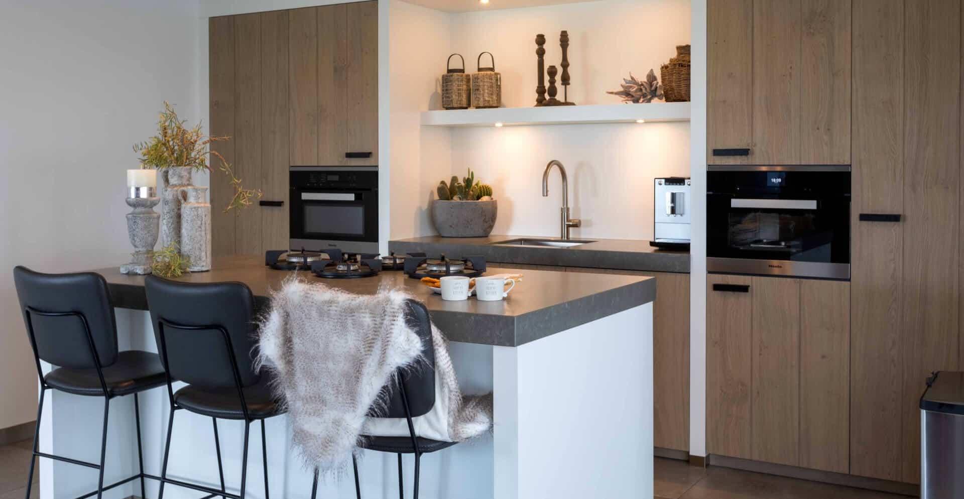 Landelijke moderne keuken 122