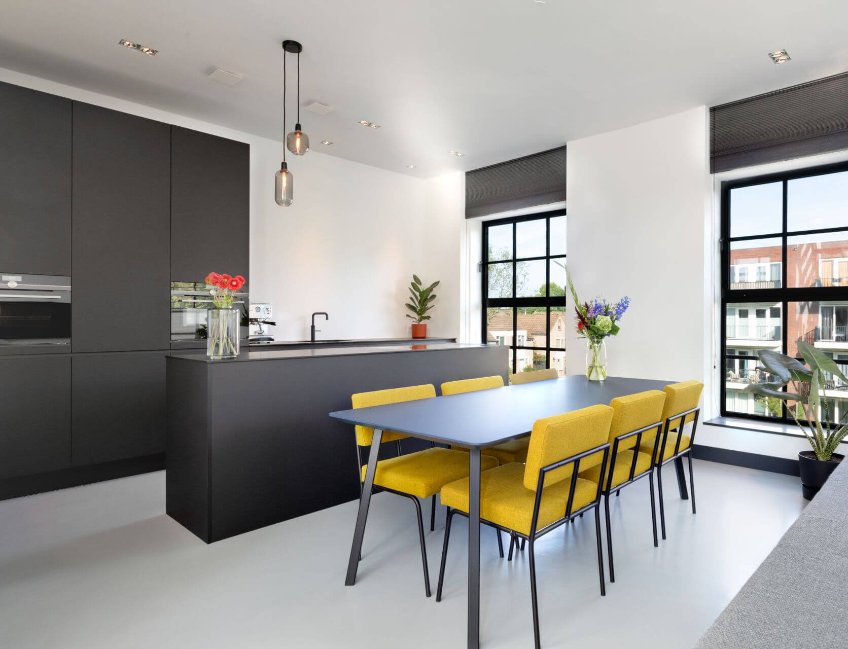 Zwarte fenix design keuken 0