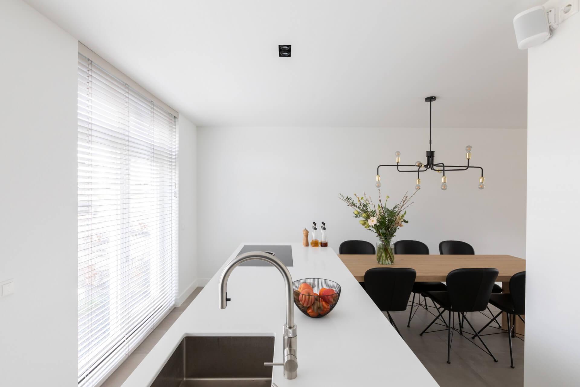 Moderne keuken met quooker