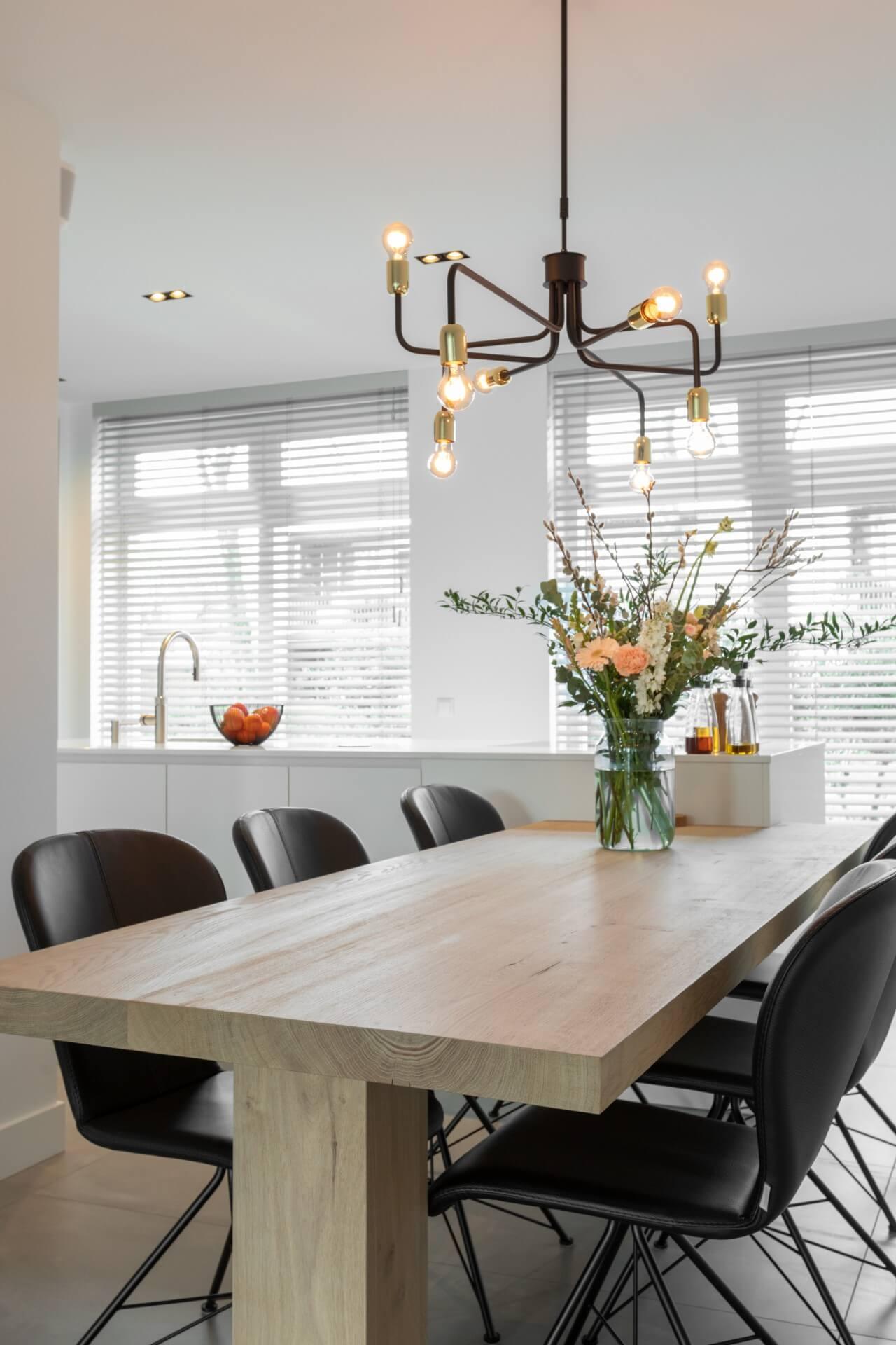 Moderne witte hoogglans keuken 007