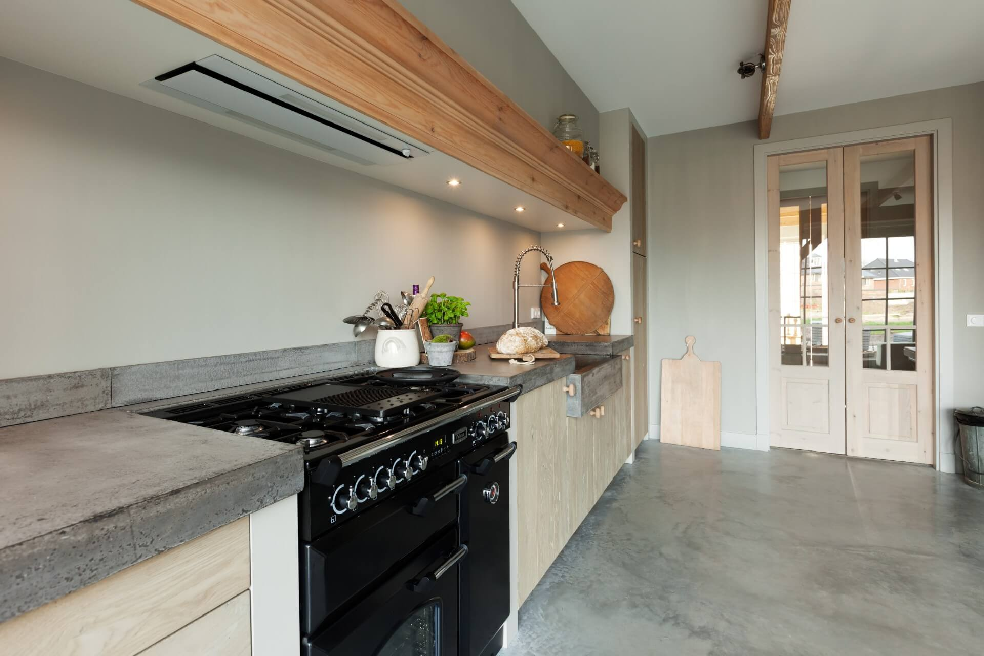 Robuuste, landelijke keuken | Barneveld