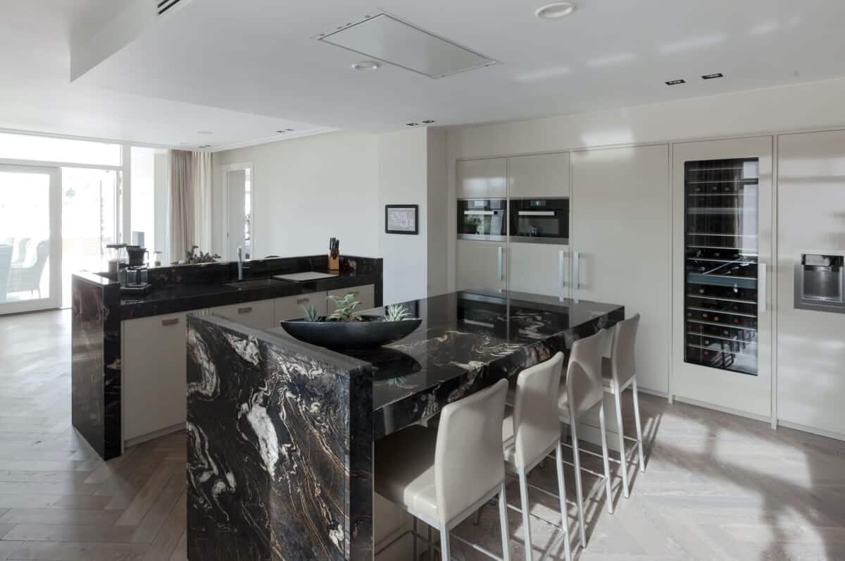 Klassieke marmeren keuken 6