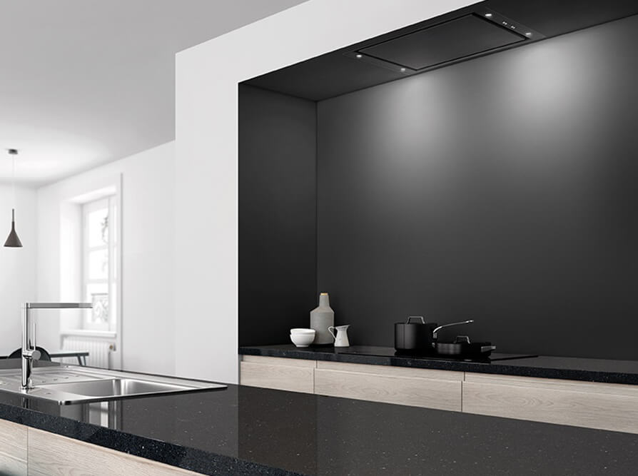 Novy dampkap moderne keuken