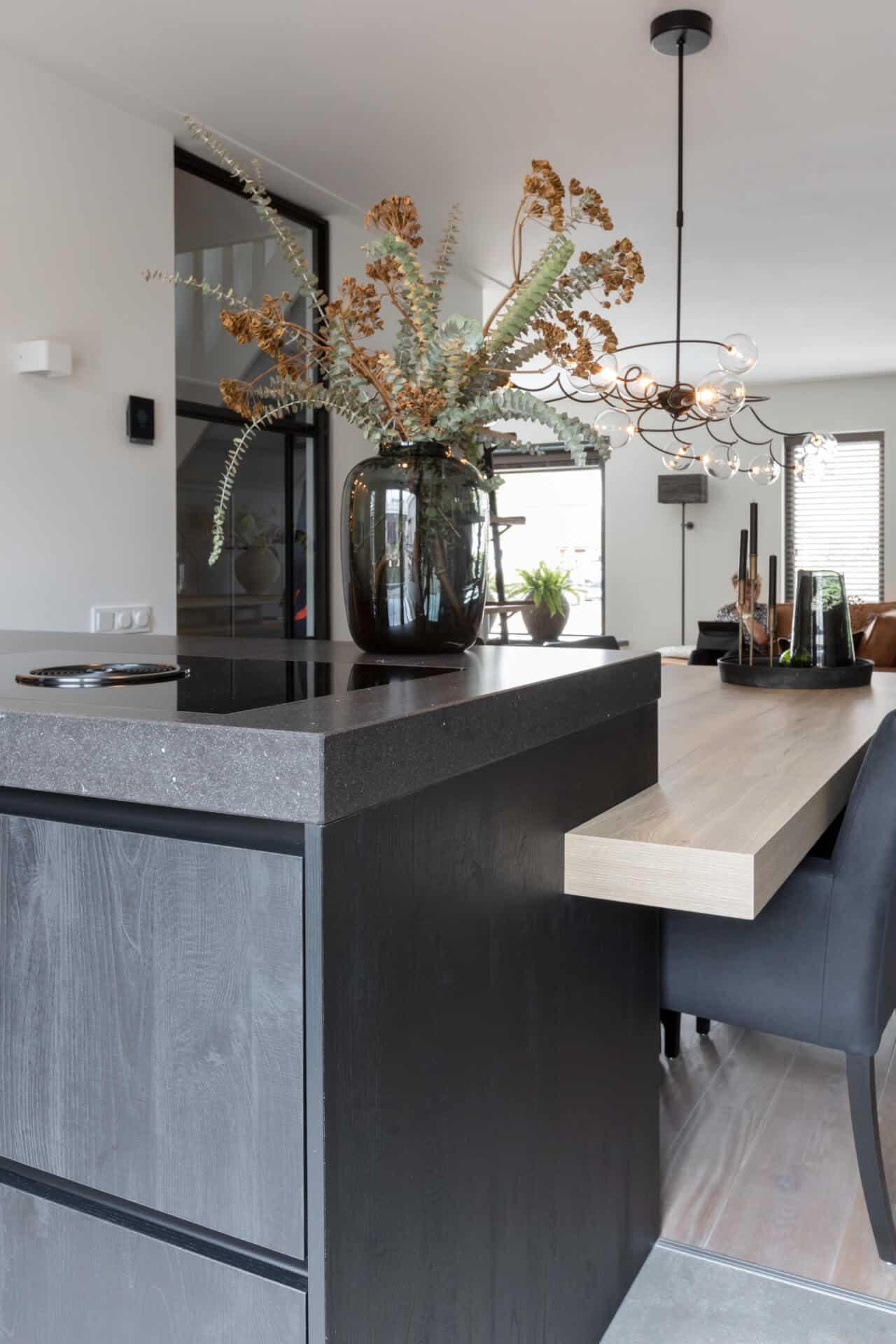 Moderne kunststof keuken 4