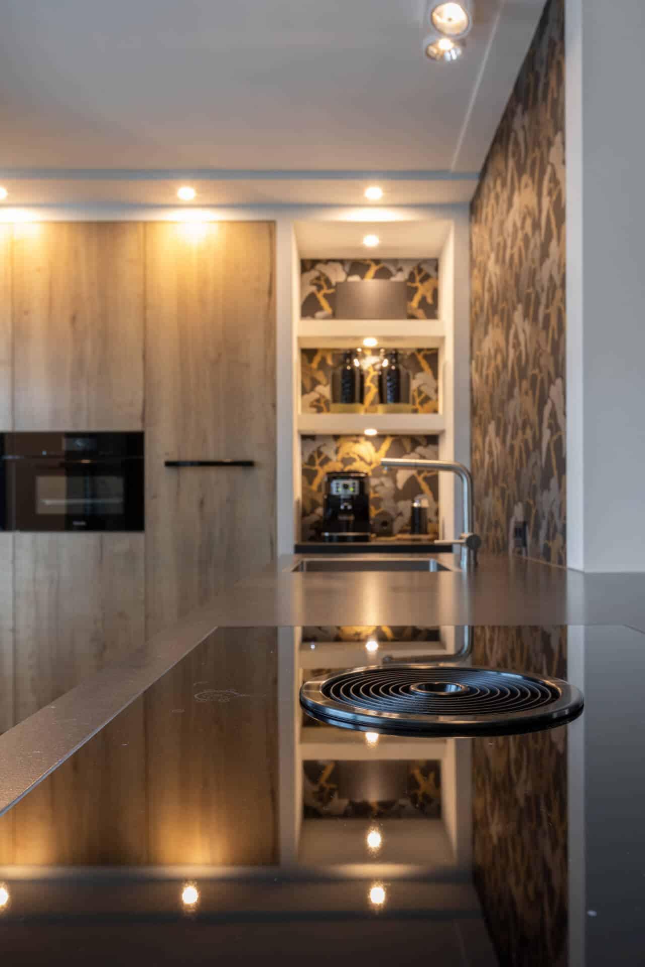 Moderne kunststof keuken bora