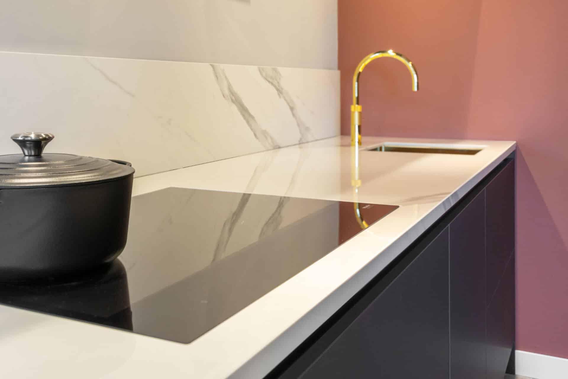 Industriële design keuken met limited edition quooker | Barneveld