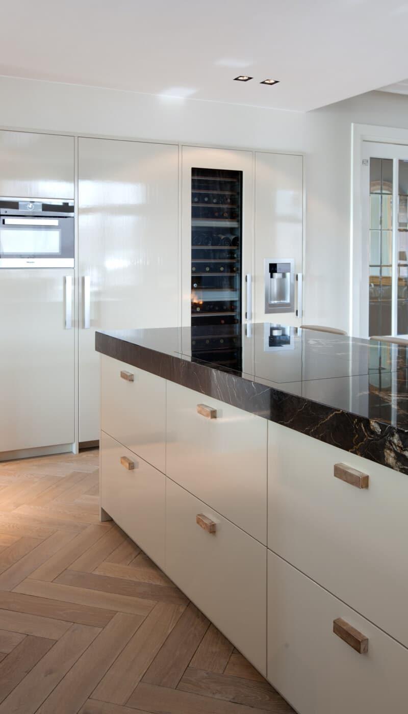 Klassiek moderne marmeren keuken 4