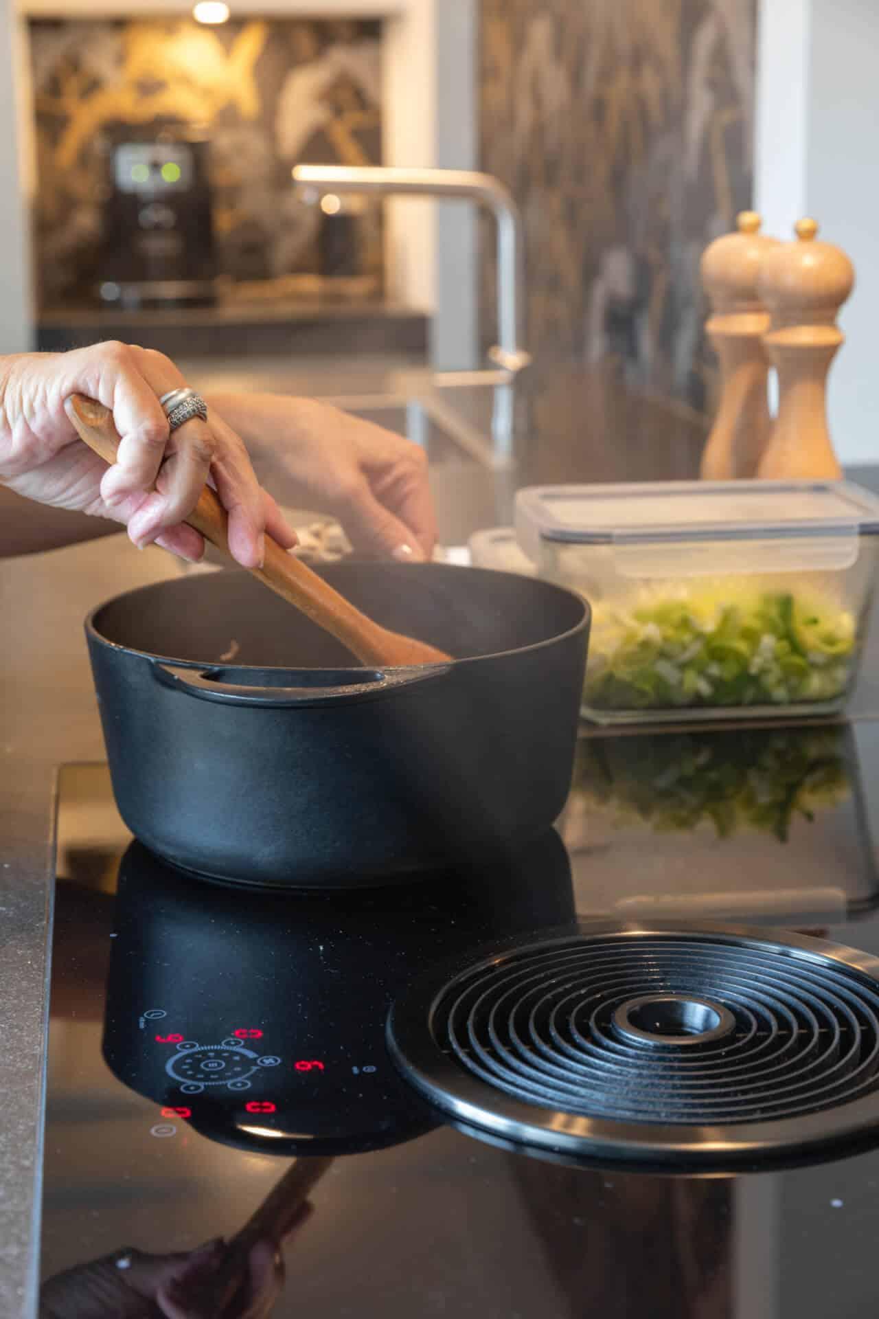 Kunsstof keuken bora kookplaat 1