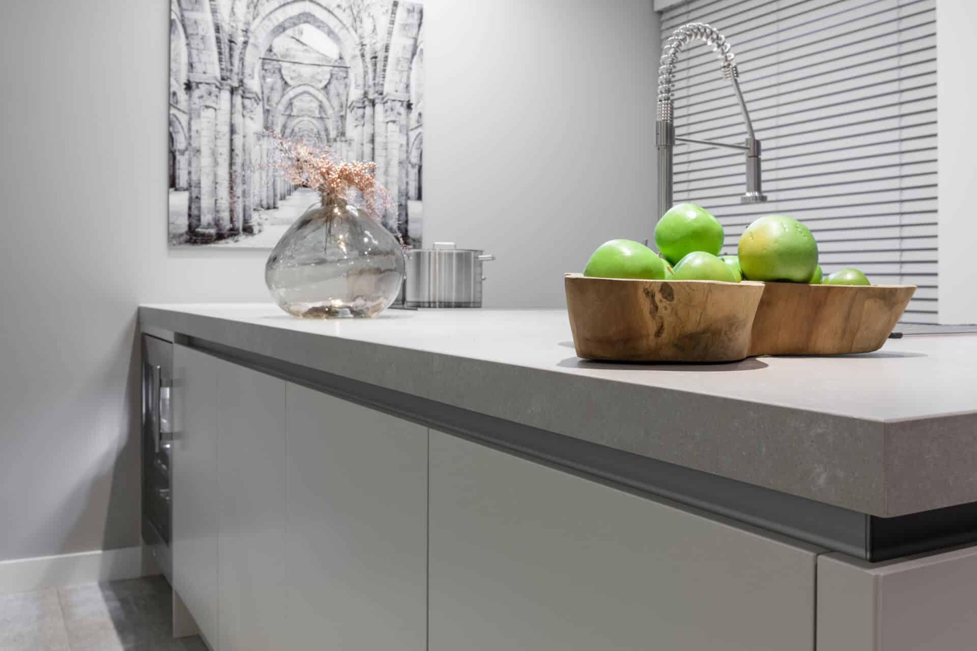 Moderne greeploze keuken kashmir