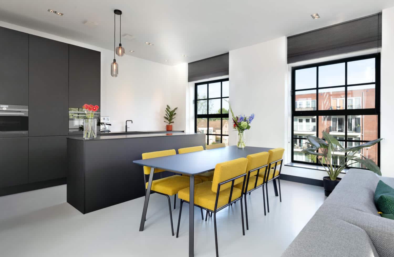 Zwarte fenix design keuken 5