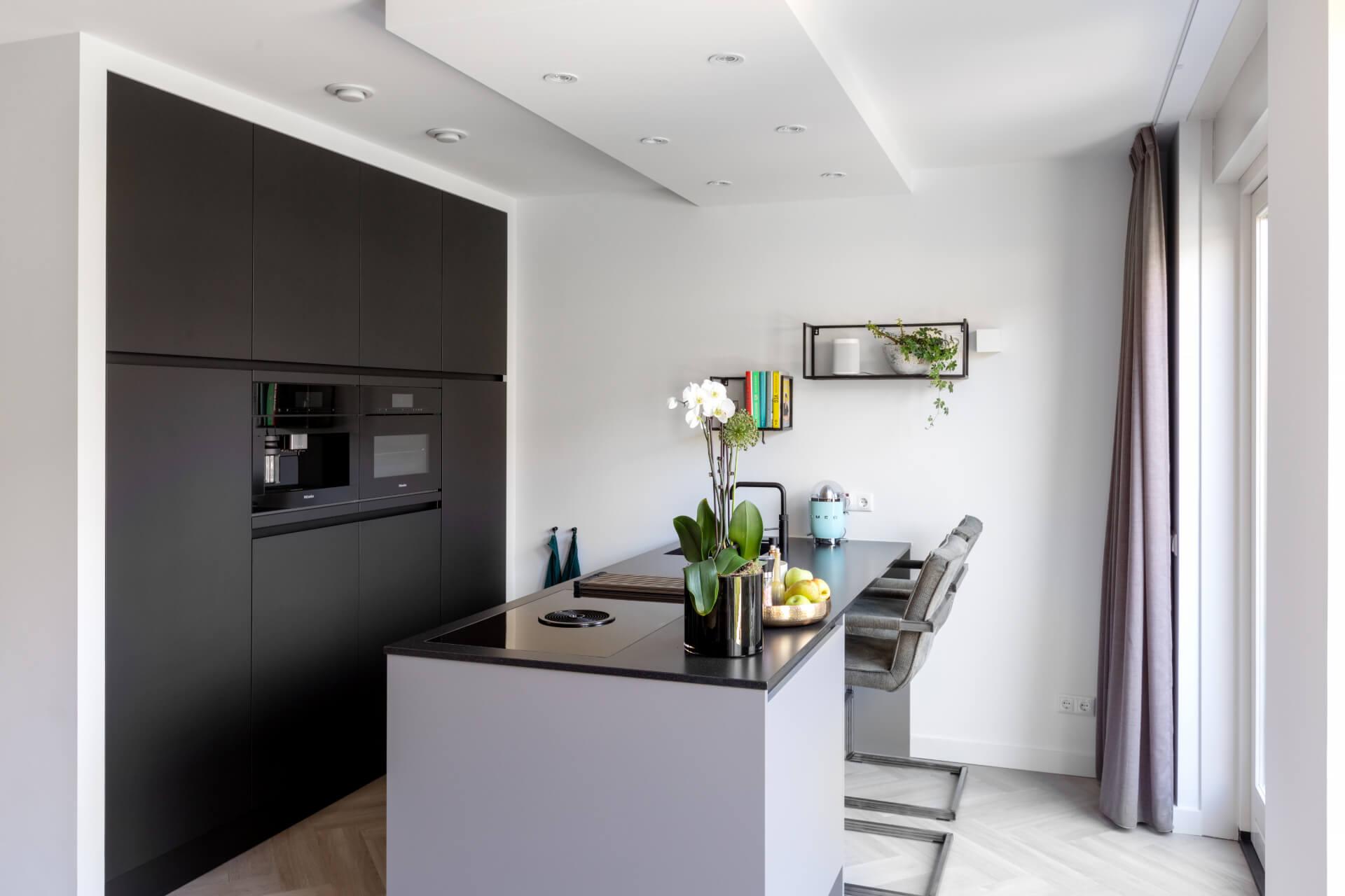 Moderne keuken met Miele 7000 apparatuur | Barneveld