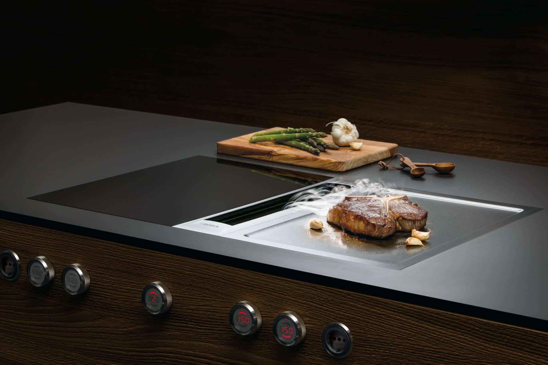 Een kookplaat met afzuiging de voor  én nadelen   Van Ginkel ...