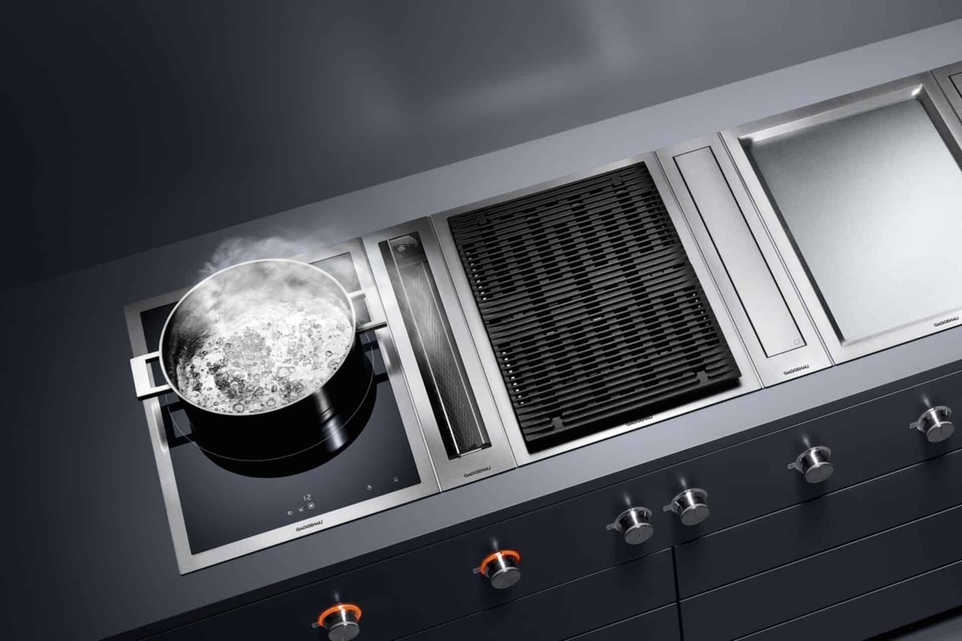 Gaggenau apparatuur in de keuken