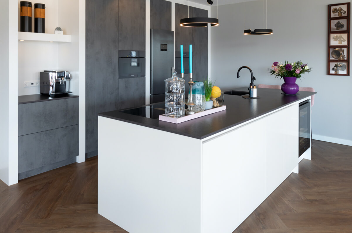 keuken met kookeiland van ginkel keukens barneveld slider 2