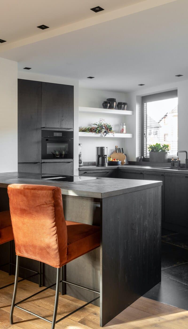 keuken met schiereiland van ginkel keukens barneveld 4