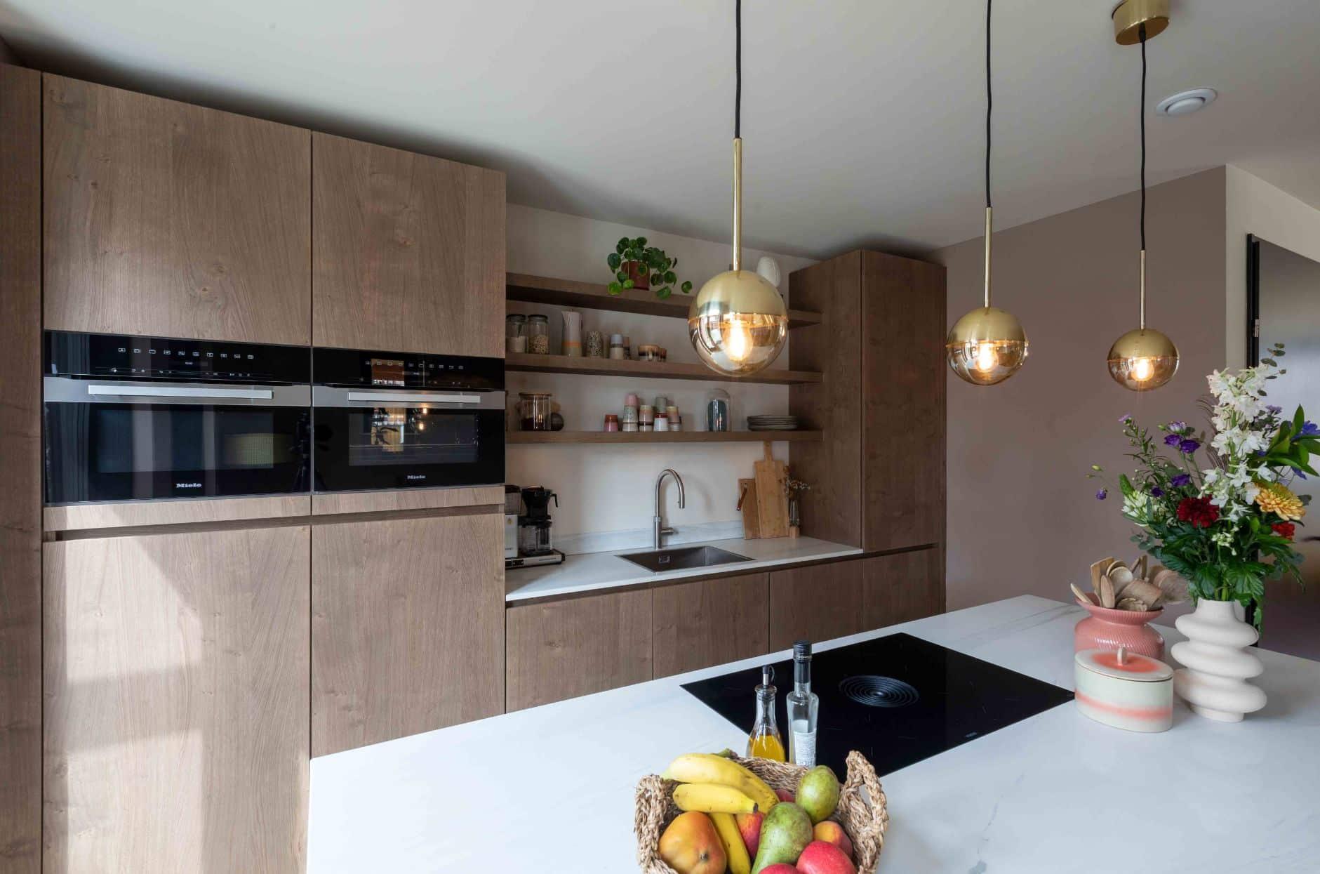Luxe marmeren keuken | Nijkerk