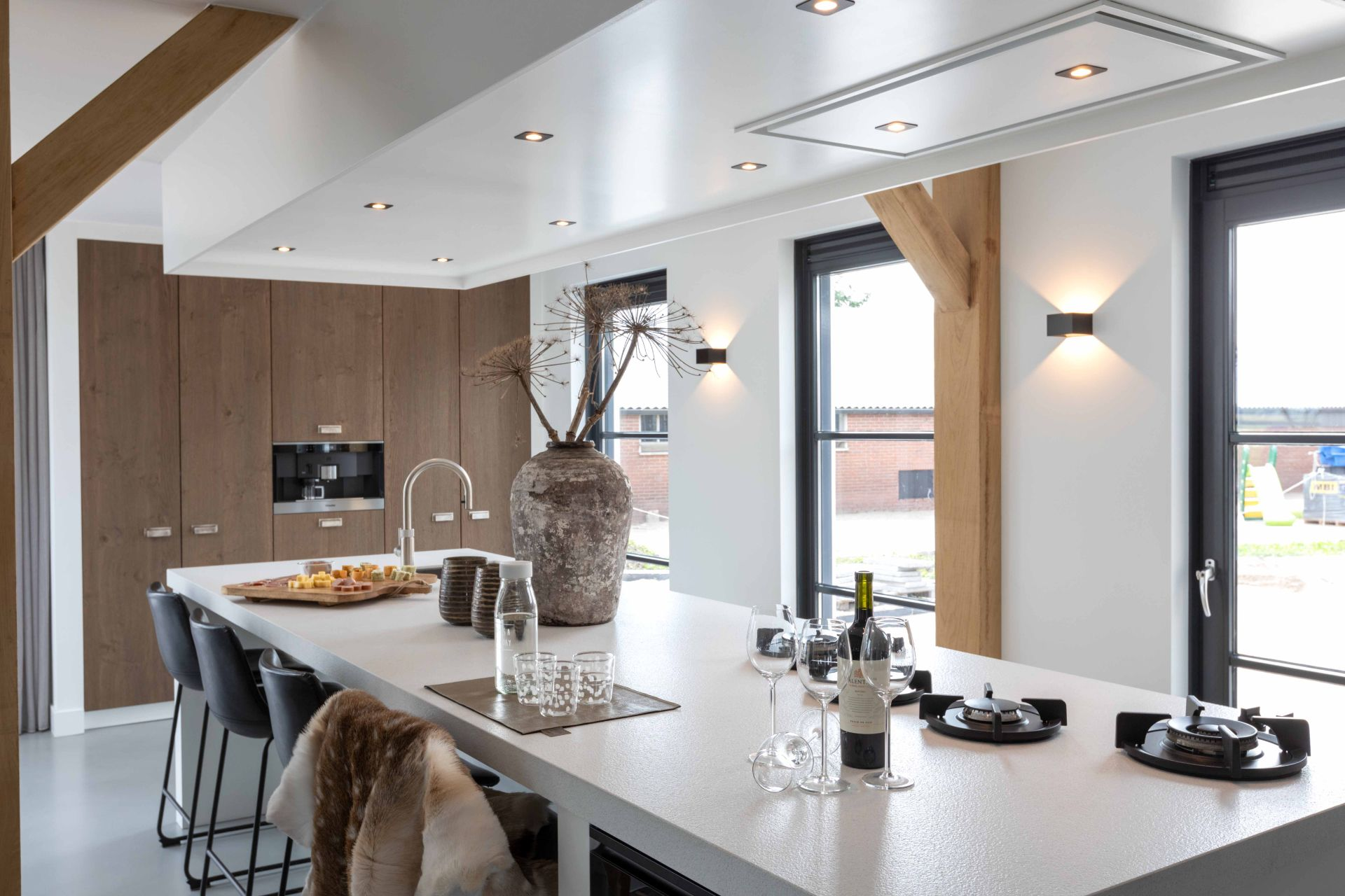 moderne landelijke keuken 07